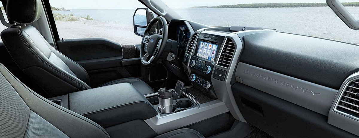 2019 Ford F-250 Interior Features & Technology