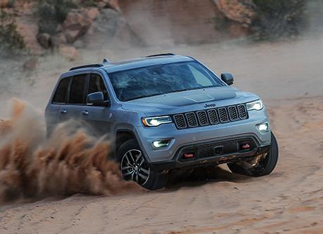 2018 Jeep Grand Cherokee Capability