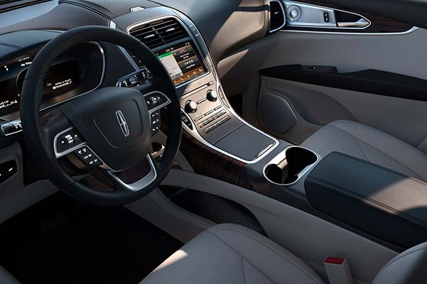 2019 Lincoln Nautilus Interior & Technology