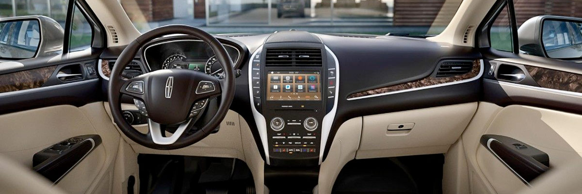 2019 Lincoln MKC Interior & Technology